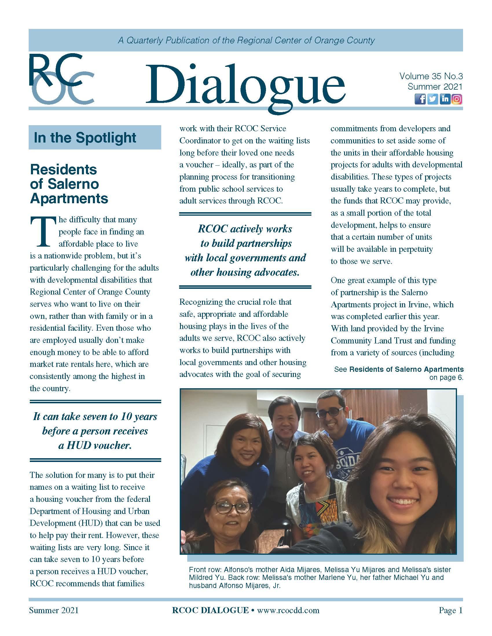 Dialogue Newsletter