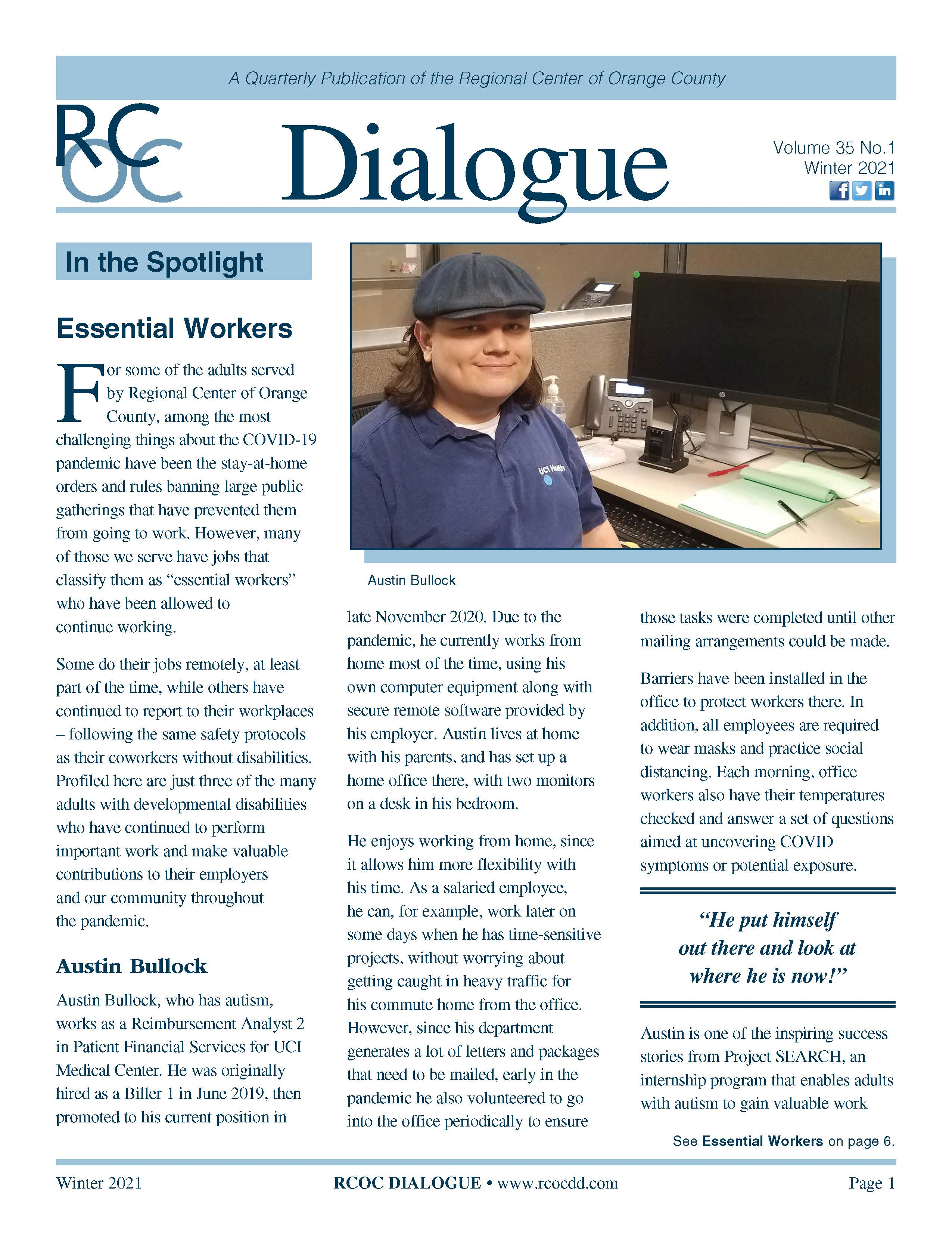 Dialogue Newsletter